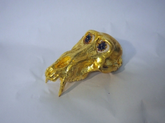 The Skull of the Slasher's Monkey - Tipton